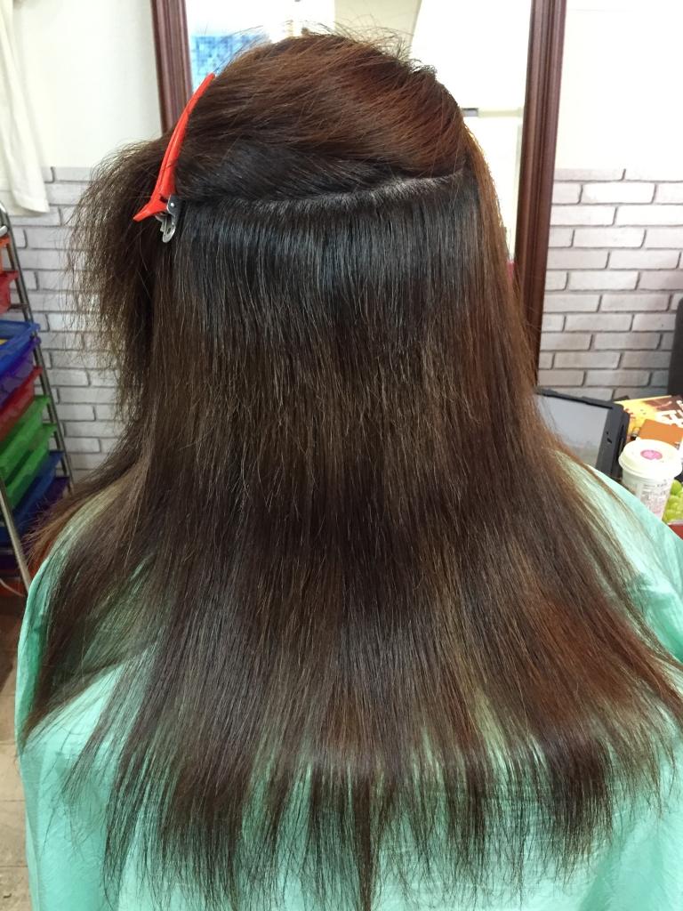 髪の毛 縮毛 美容室