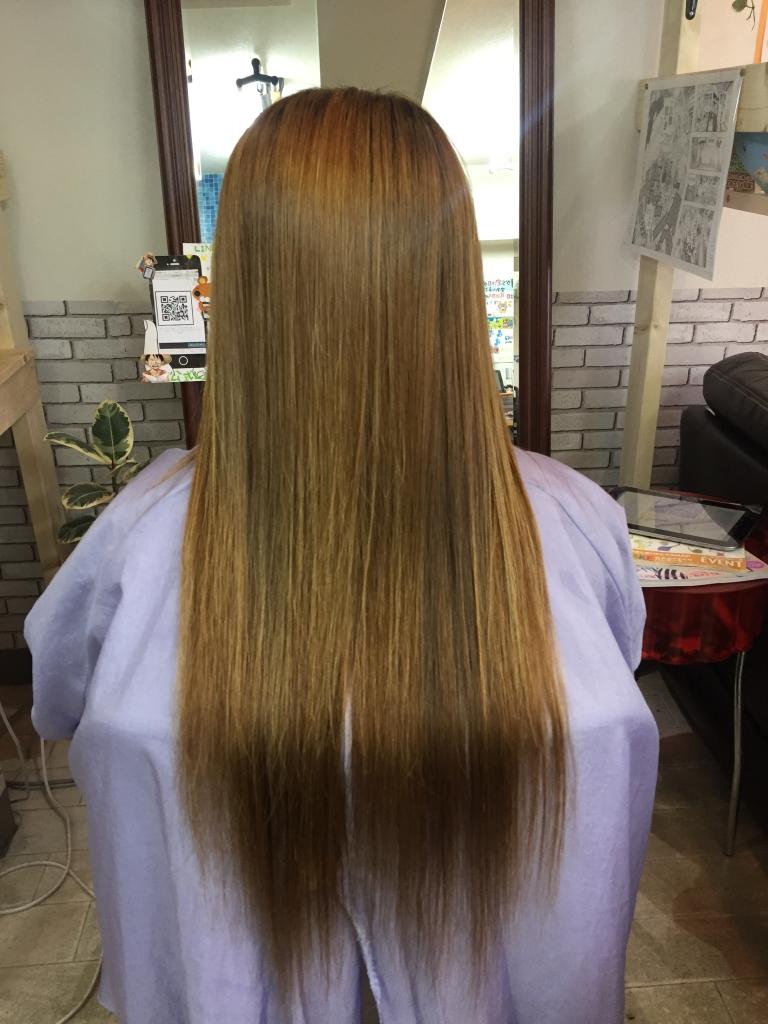 ヘアカラー 髪質改善 天理 天理市 奈良