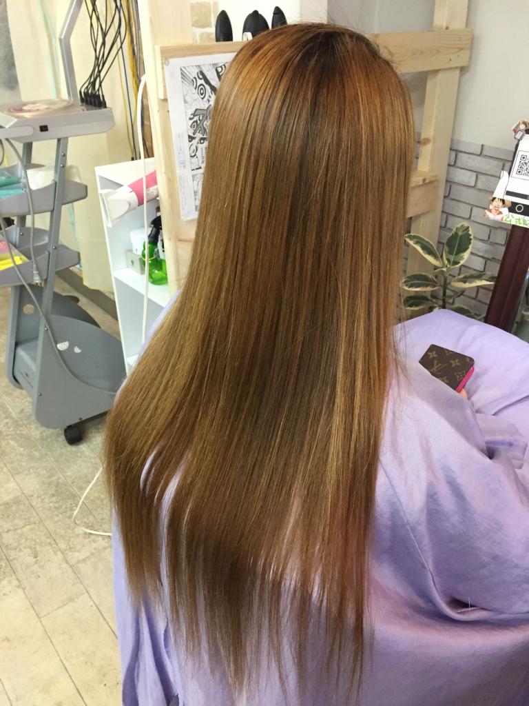 奈良市 ヘアカラー 天理市 外国人風ヘアカラー 髪質改善