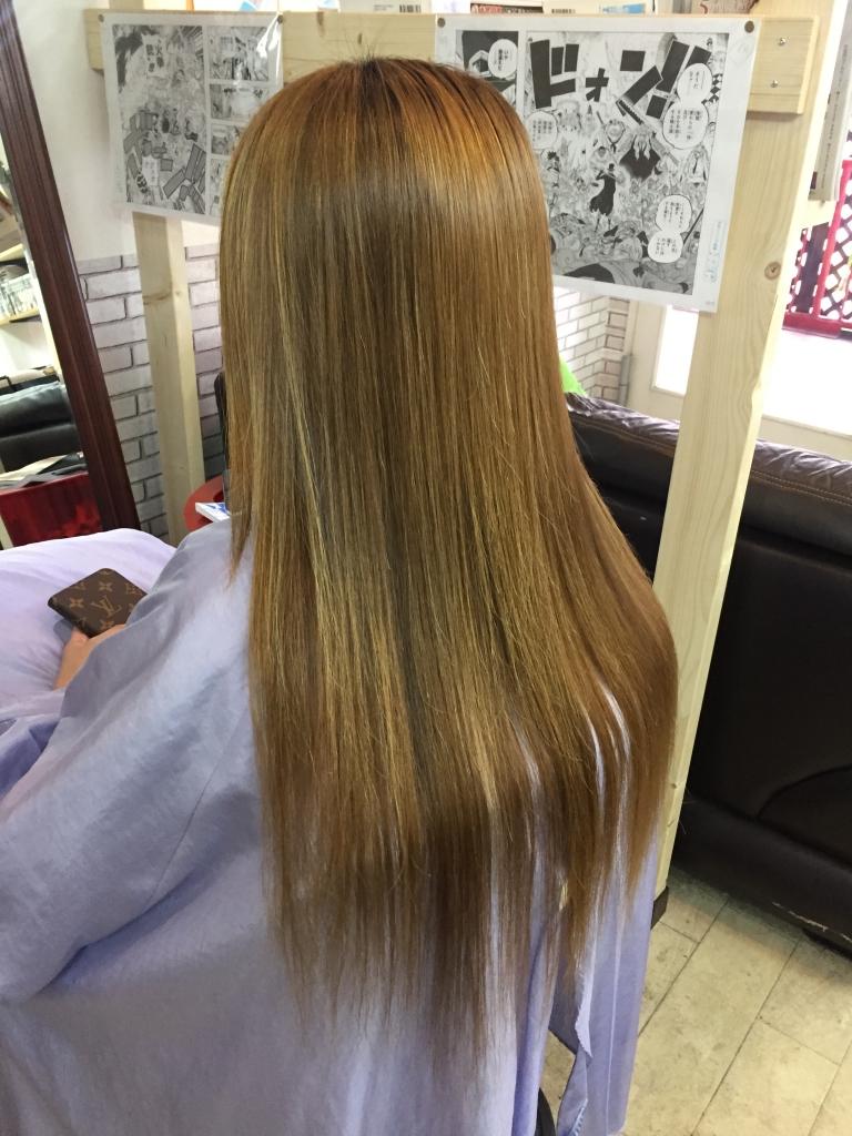 奈良市 髪質改善 天理市