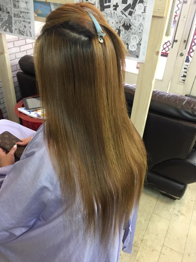 髪質改善 ヘアカラー 奈良市 天理市