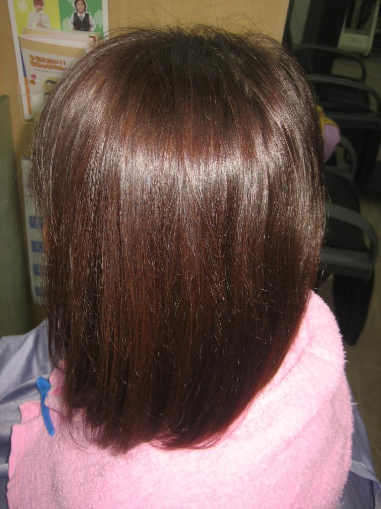 奈良市 髪質改善美容室 縮毛矯正