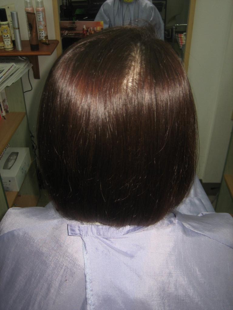 奈良市 学園前 髪質改善 60代 50代