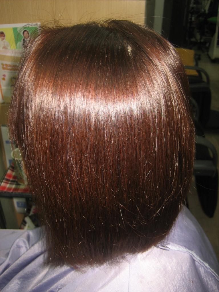 奈良 50代 60代 髪質改善 縮毛矯正