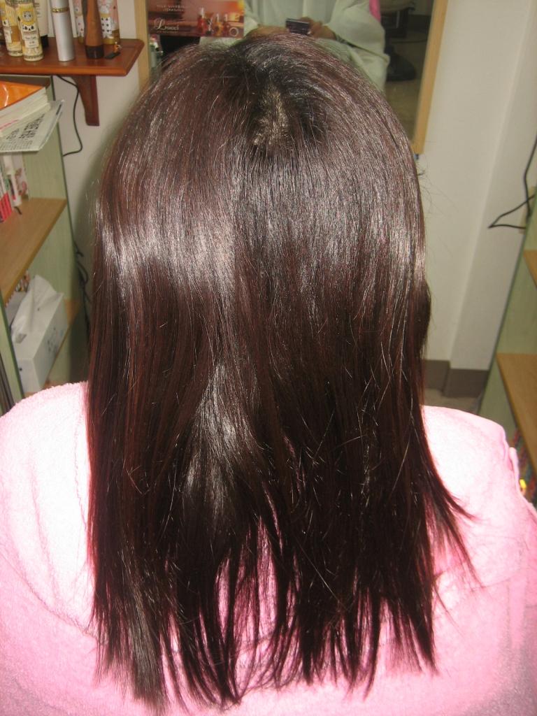 相楽郡 精華町 美容室 縮毛矯正 ストレートパーマ 髪質改善