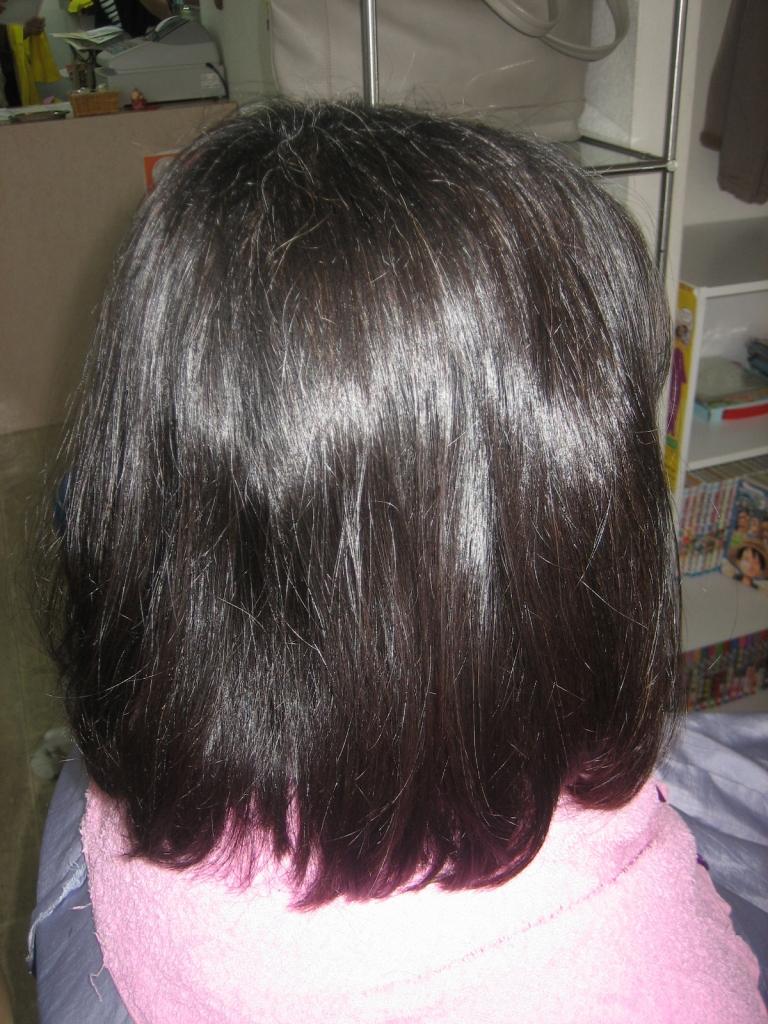 奈良 西大寺 髪質改善