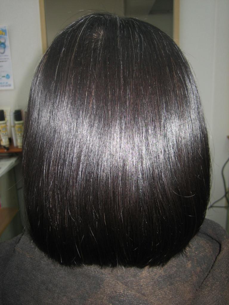 髪質改善 縮毛矯正 奈良 美容室 西大寺