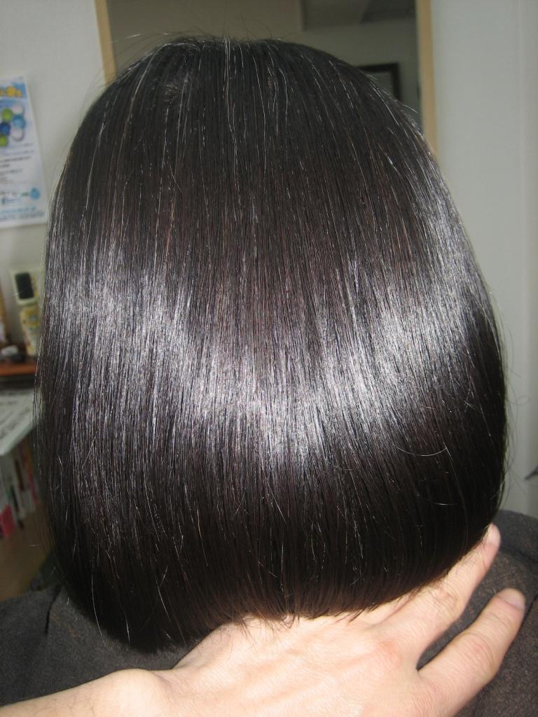 髪質改善 奈良市 縮毛矯正