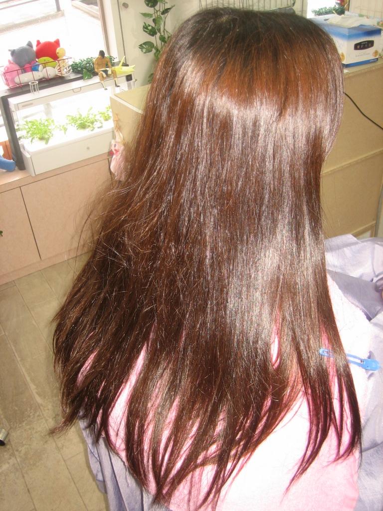 髪質改善縮毛矯正 奈良市 大和郡山市 大和八木