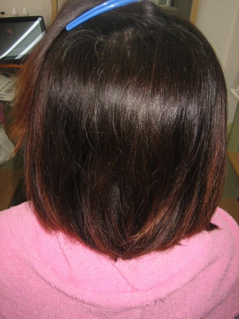 奈良 桜井市 縮毛矯正 髪質改善
