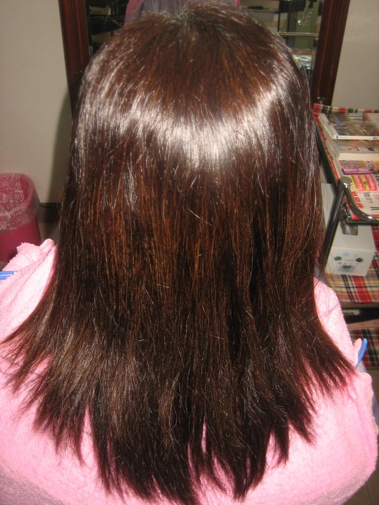 縮毛矯正 4ヵ月後 奈良 新大宮 西大寺 高の原 生駒 ストレートパーマ