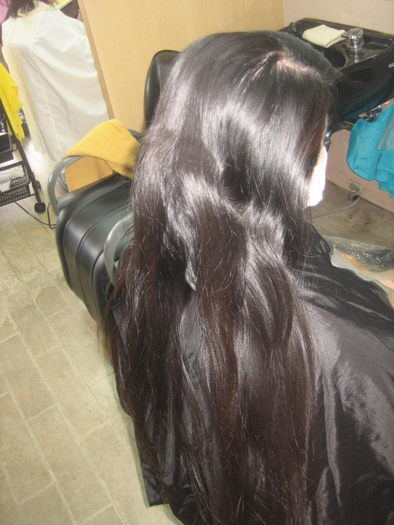 初めての縮毛矯正 初めてのストレートパーマ 奈良 橿原 天理 八木 桜井