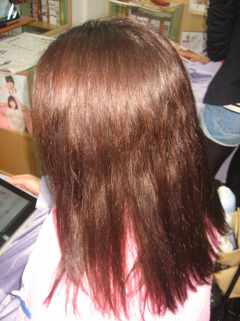 奈良 髪質改善 縮毛矯正 美容室