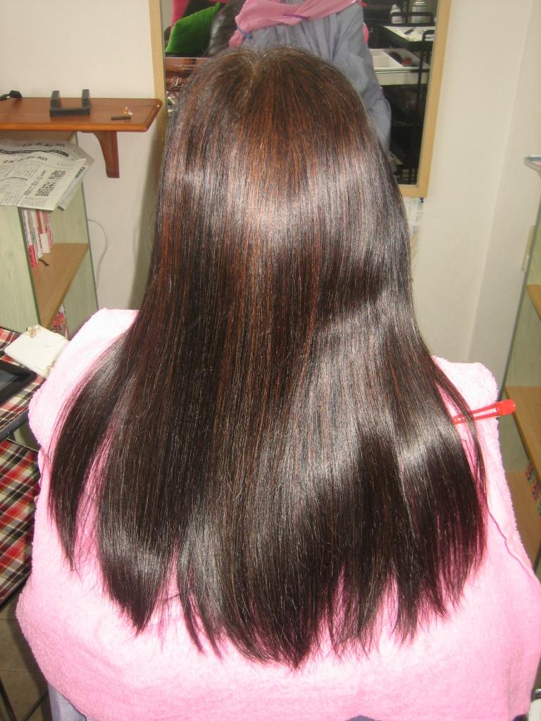 奈良 西大寺 美容室 縮毛矯正 髪質改善