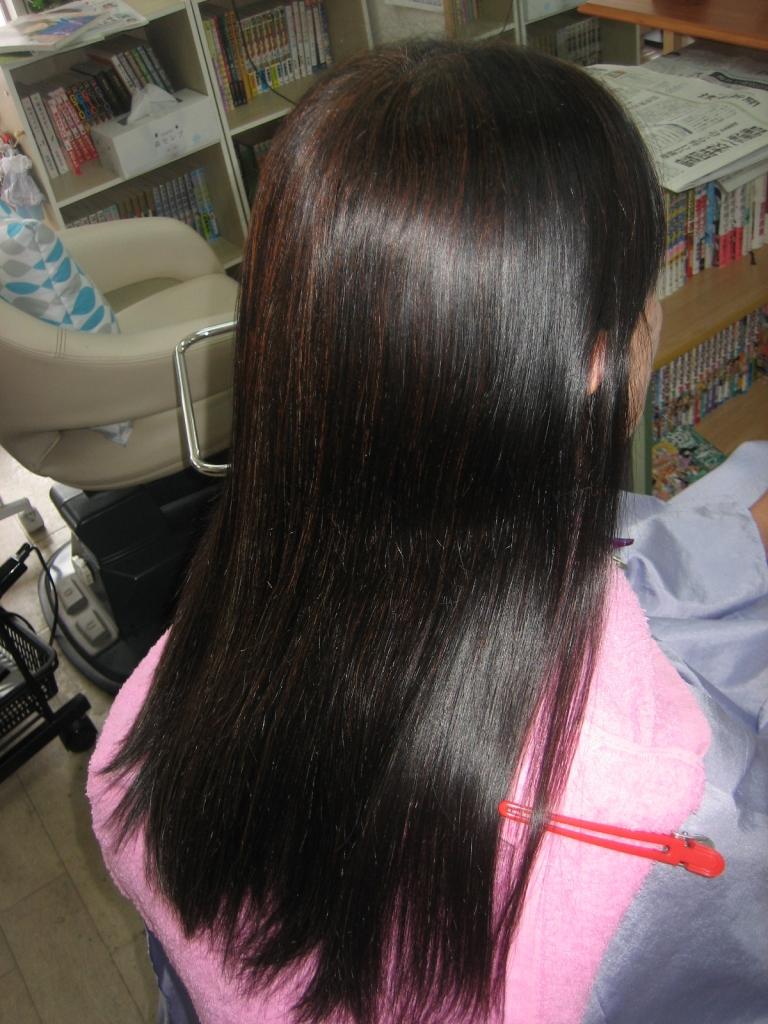 生駒 髪質改善 縮毛矯正 美容室 学園前