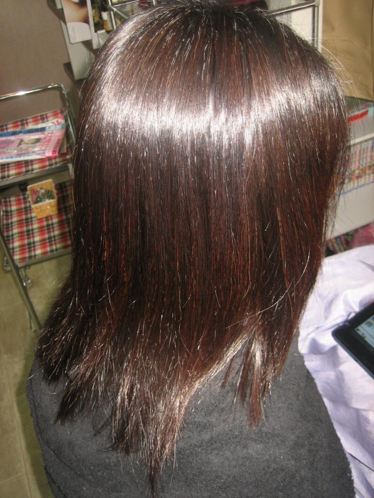 学園前 美容室 高の原 生駒 髪質改善 50代 白髪染め