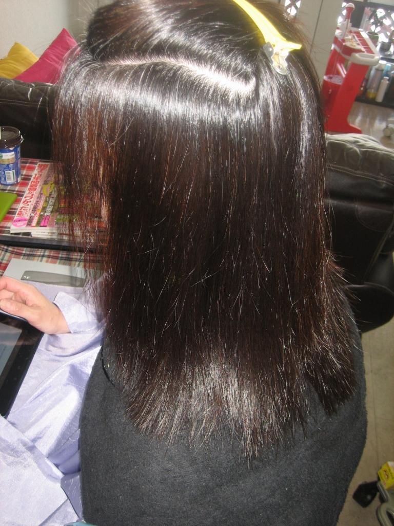 奈良 白髪染め 50代 60代 ヘアサロンヘアカラー専門店