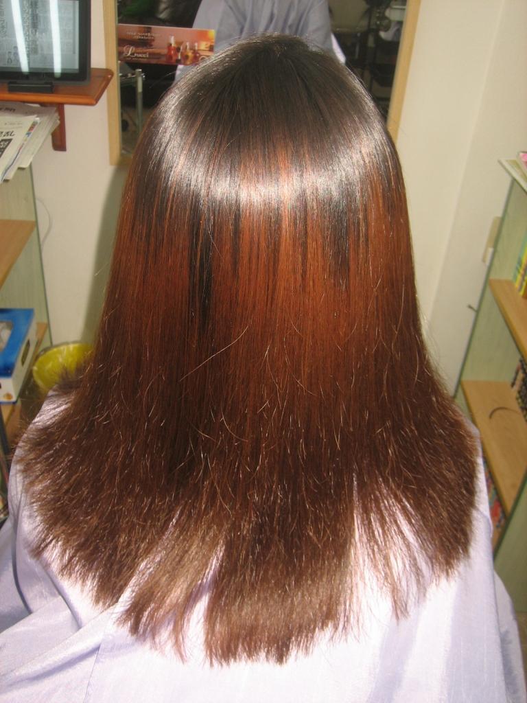 チリチリ ダメージヘア 美容室 高の原 西大寺 髪質改善専門店