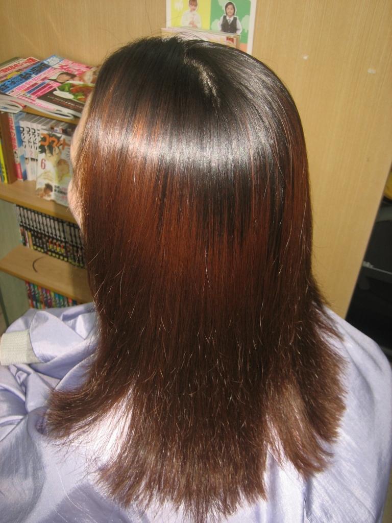 学園前 奈良市 髪質改善 縮毛矯正 美容室