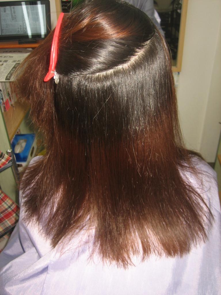 髪質改善 縮毛矯正 ヘアカラー 奈良市美容室
