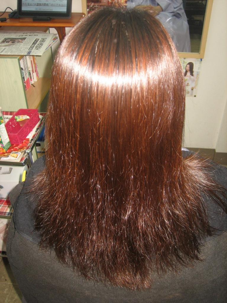 髪の毛チリチリ ジリジリ 美容室の失敗 髪質改善