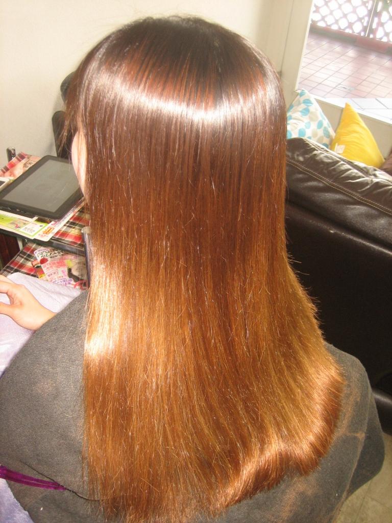 髪質改善 縮毛矯正 ダメージヘア