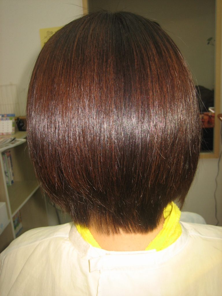 髪質改善 奈良 奈良市 美容室 縮毛矯正 ヘアカラー