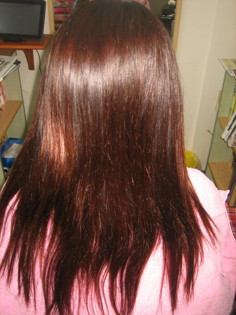 痛みすぎた髪の縮毛矯正 髪質改善