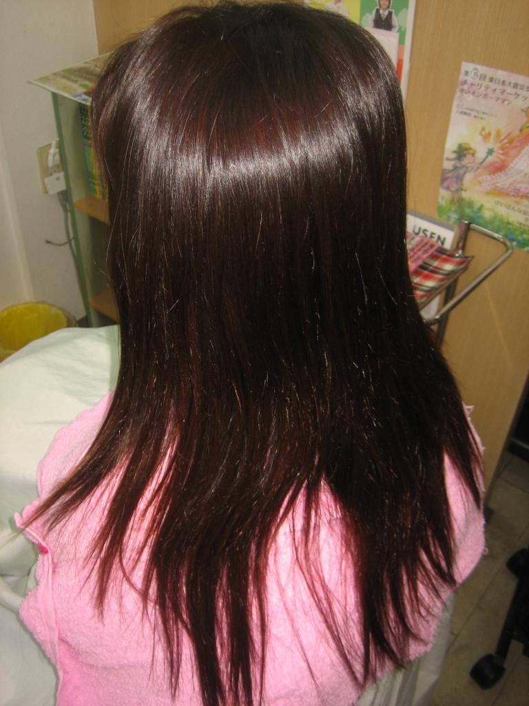 ストパー チリチリ ジリジリ 縮毛矯正髪質改善