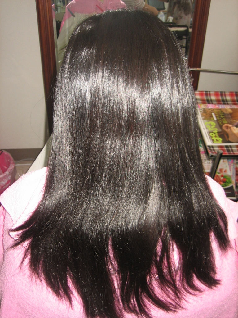 奈良 新大宮 美容室 縮毛矯正 クセが強い