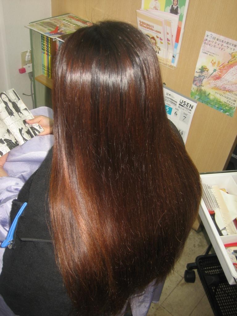 生駒 髪質改善専門店 美容室 縮毛矯正 チリチリ