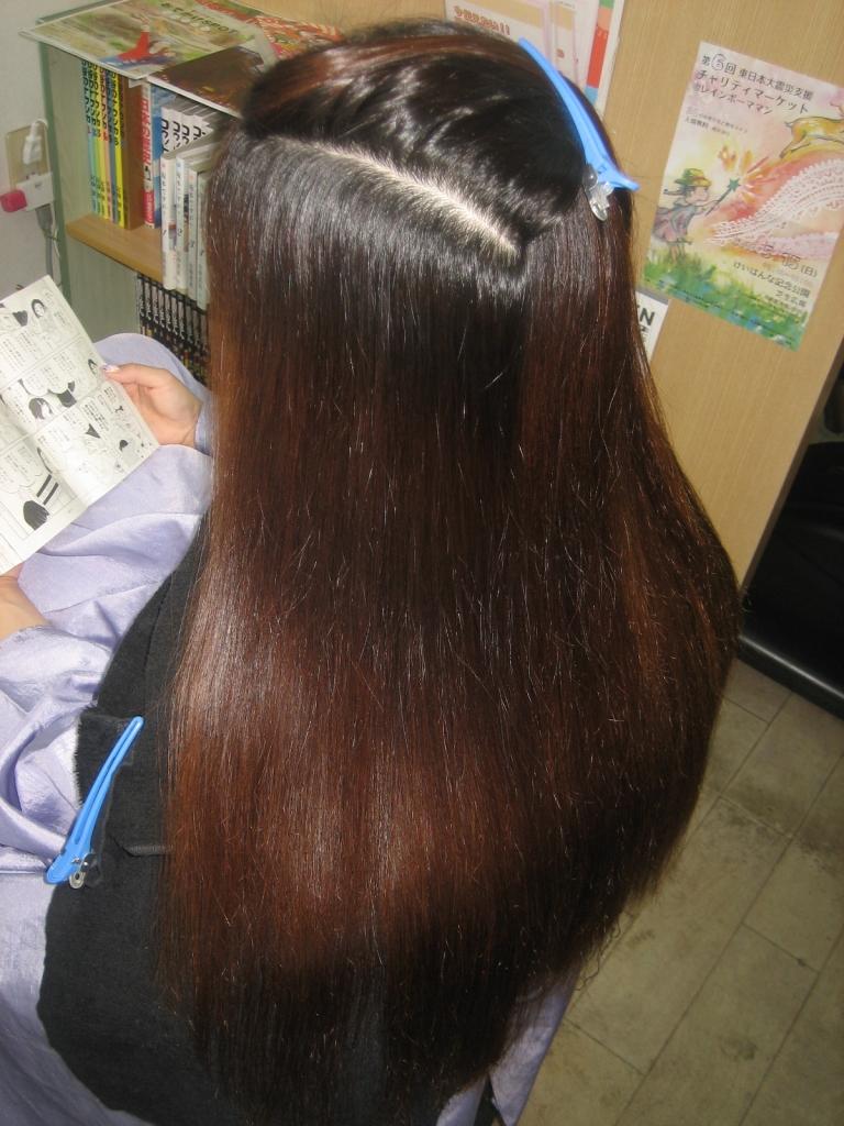 チリチリ 髪質改善 ジリジリ ストレートヘア 生駒市 奈良県 生駒郡