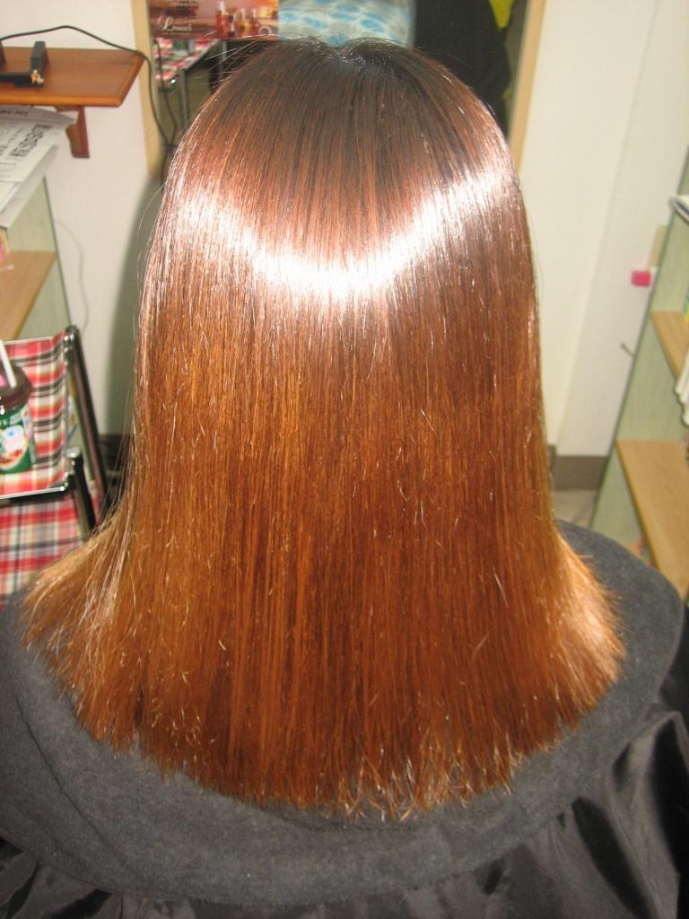 大和郡山市 髪質改善縮毛矯正 美容室 アラフォー アラフィフ