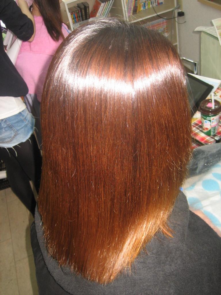 髪質改善縮毛矯正 大和郡山市 美容室