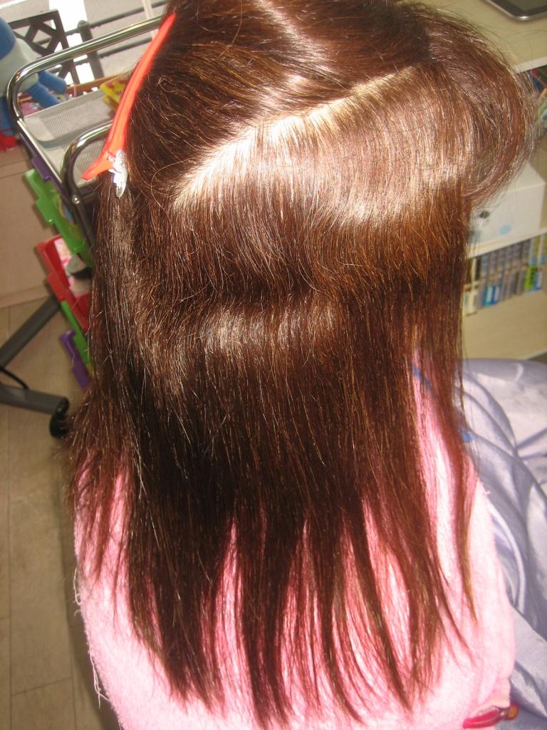 奈良市 50代ヘアスタイル 白髪染めと縮毛矯正 高の原