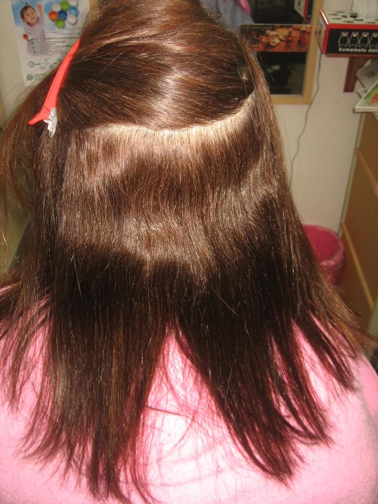奈良 アンチエイジング系美容室 縮毛矯正