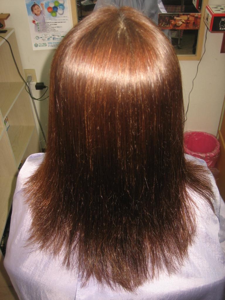 白髪染めしてても出来る縮毛矯正 美容室 50代ヘアスタイル 60代ヘアスタイル