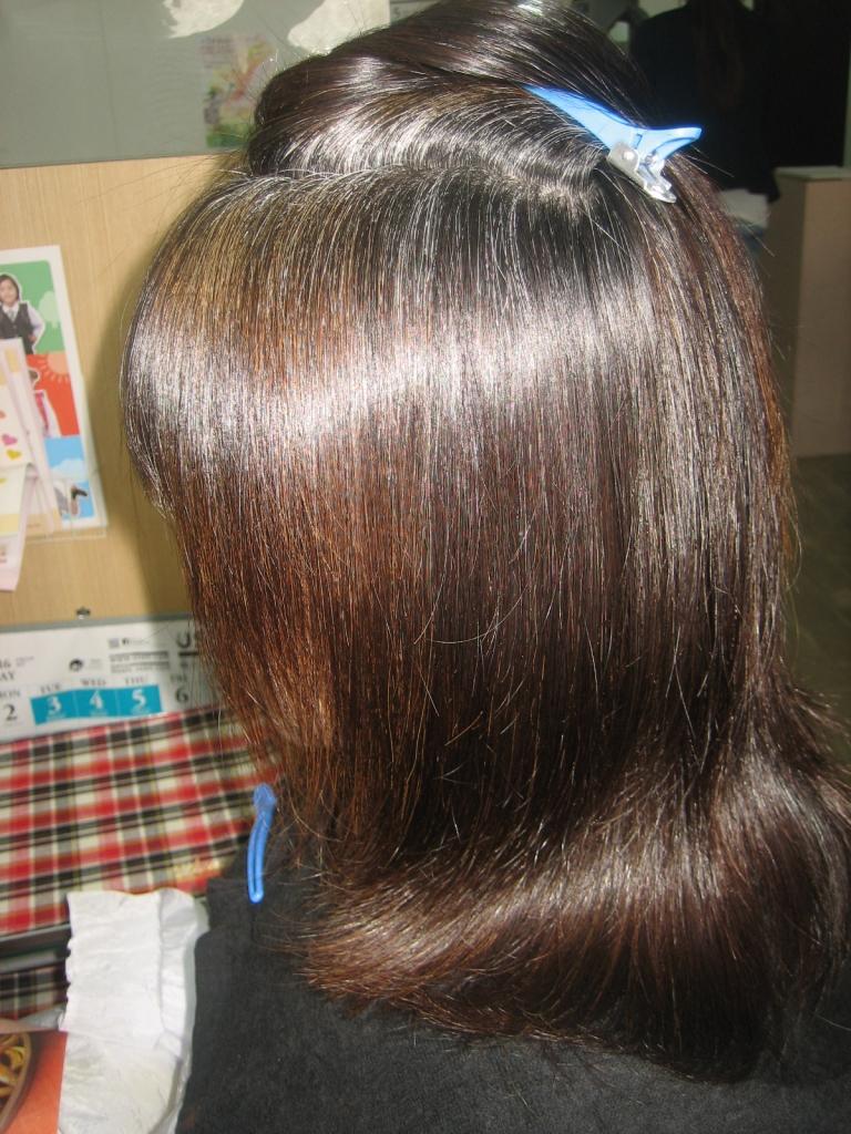 髪質改善白髪染め 奈良 生駒 西大寺