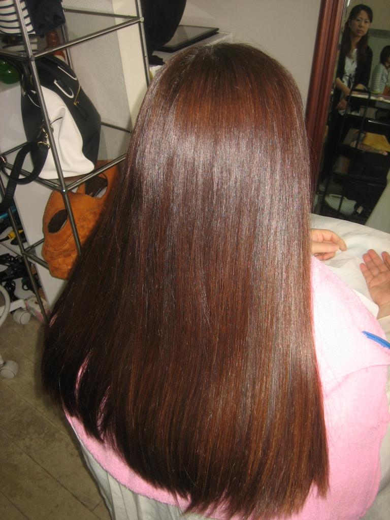 奈良県髪質改善専門店 学園前 アラフィフヘアスタイル