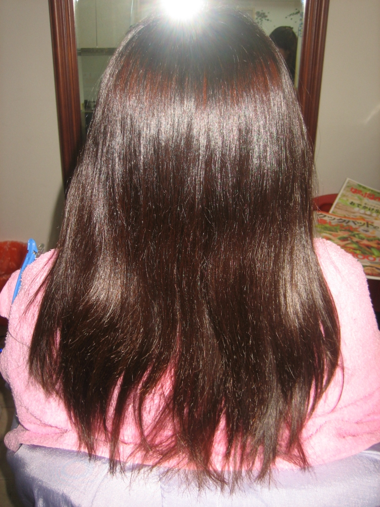根折れ 縮毛矯正の失敗 髪質改善の失敗 奈良 大和高田市