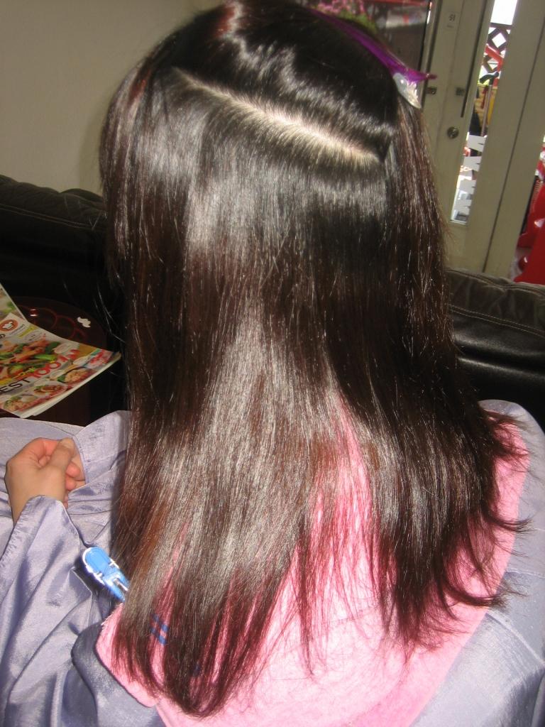 根折れ 美容室の失敗 縮毛矯正の失敗 髪質改善失敗