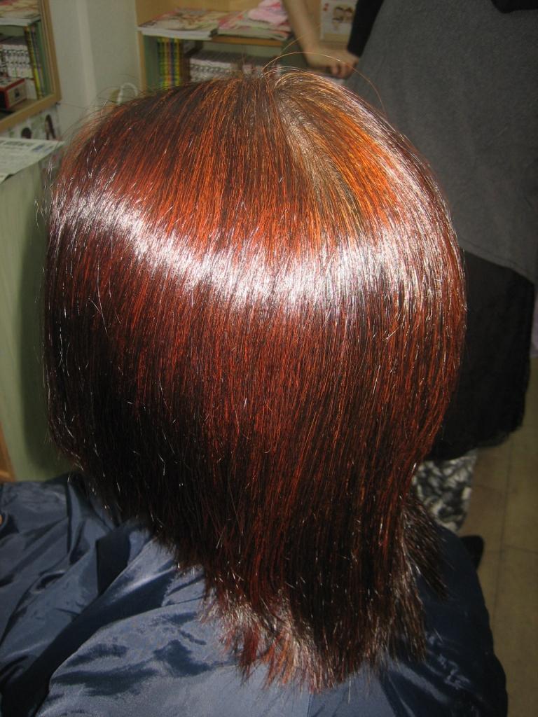 奈良 縮毛矯正 チリチリ ジリジリ 髪が切れた 髪が溶けた