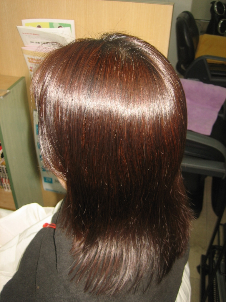 40代ヘアスタイル アラフォー女子専門店 美容室 奈良 学園前 関西大人の美容室 縮毛矯正 西大寺 髪質改善 高の原
