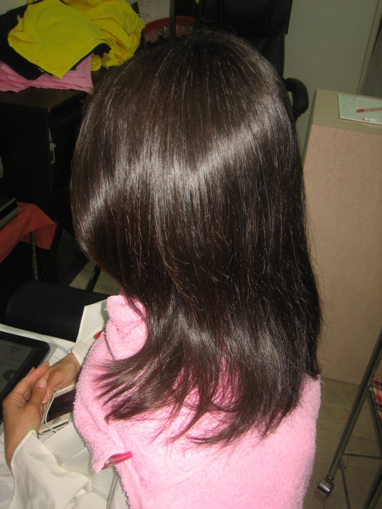 40代の髪の悩み 白髪染めと縮毛矯正同時にしたい 奈良美容室 奈良市美容室