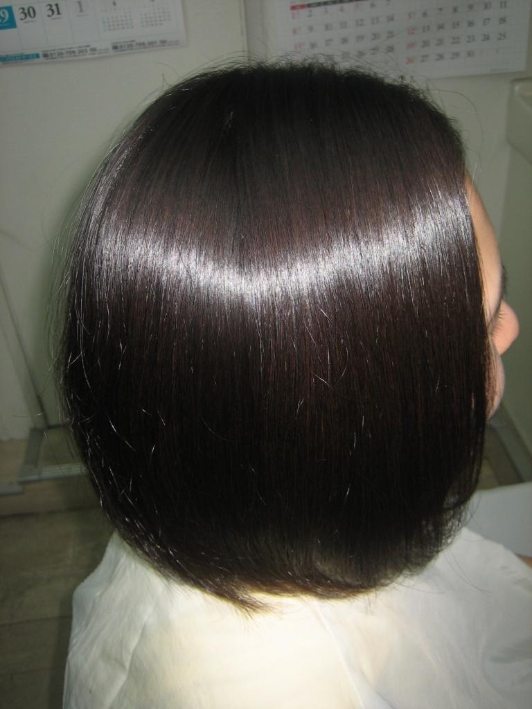 奈良県美容室 縮毛矯正 髪質改善 美髪 艶髪奈良