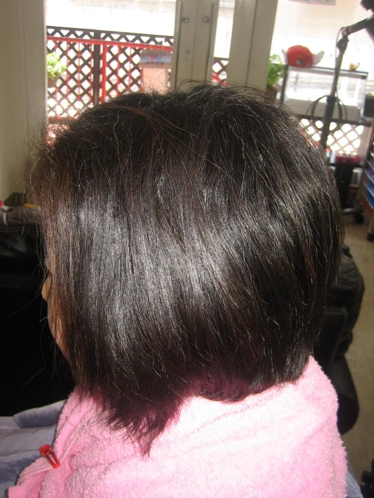 40代イメージチェンジ 木津川市 高の原 美容室 縮毛矯正 祝園 ヘアカラー