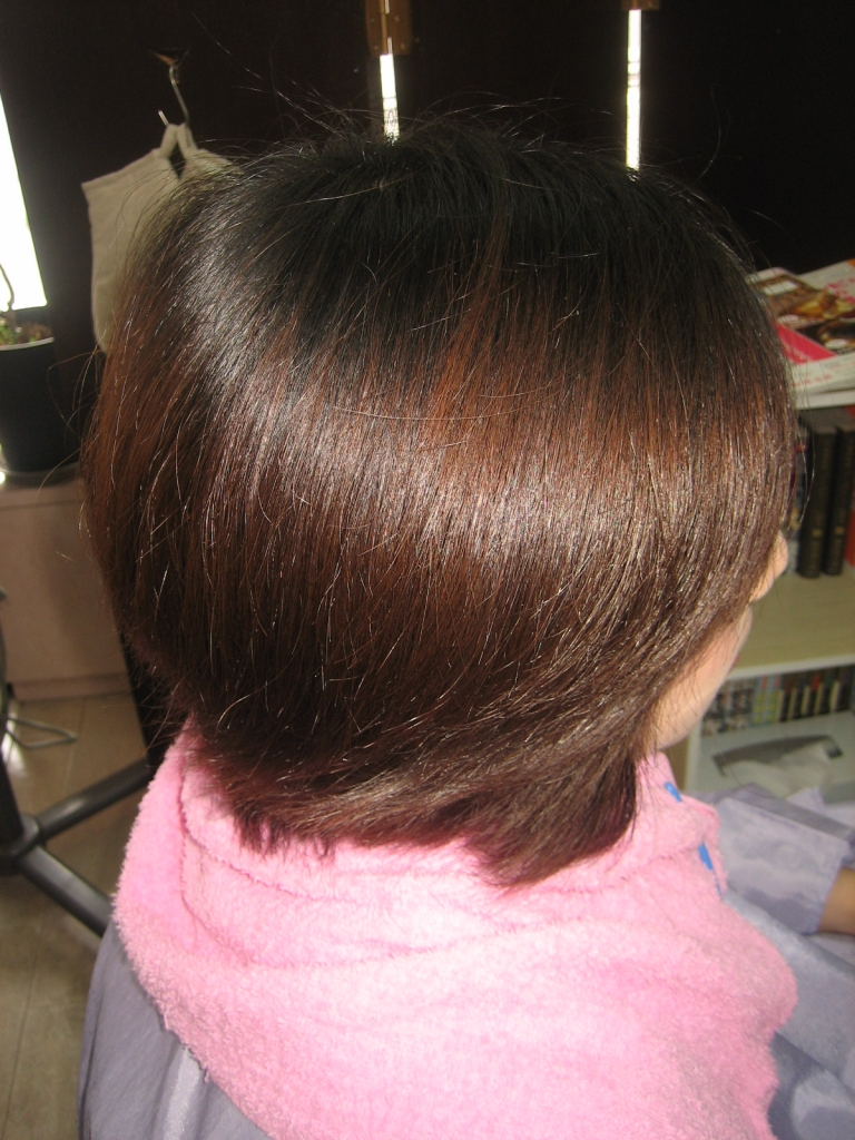 奈良県 縮毛矯正 生駒 髪質改善 高の原 ストパー 美容室