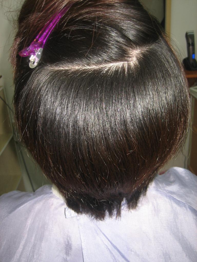 髪質改善 高の原 美容室 縮毛矯正