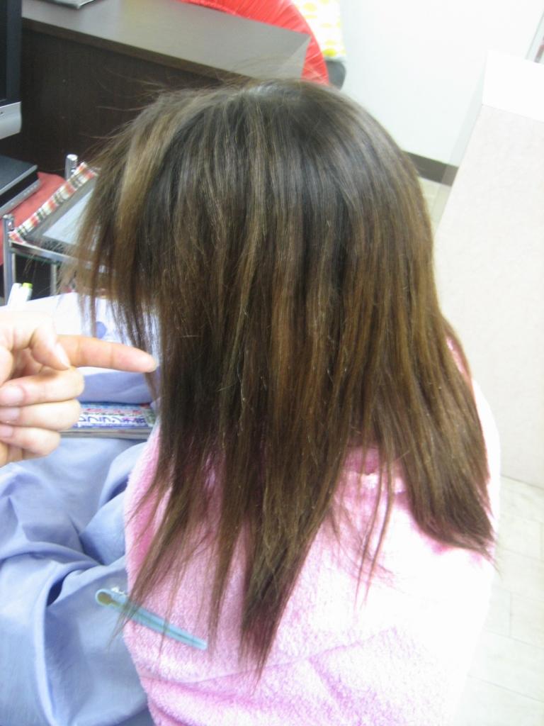 壱分 美容室 南生駒 髪質改善 生駒 ストパー 生駒郡 縮毛矯正 ストレートパーマ 北生駒 ストレートとヘアカラー