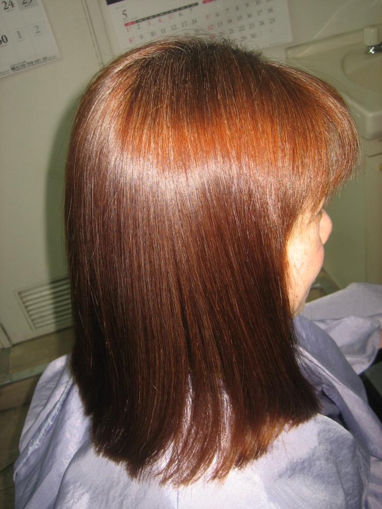 木津川市 美容室 州見台 梅美台 髪質改善 高の原 ストレートパーマ